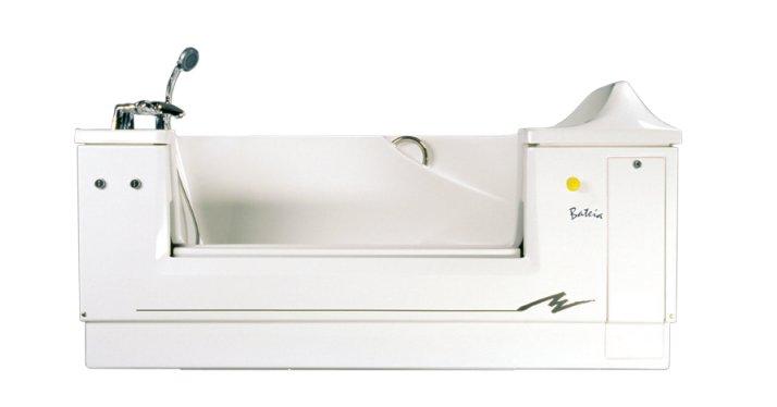 Bateia wit instapbad in hoogte verstelbaar 3302000