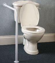 Steun voor het toilet met vloer/muurbevestiging Ringwood 072311-AA6018