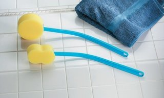 Verlengde buigbare badspons 920567, 920566