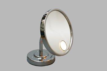 Make-up en scheerspiegel met warme verlichting 259877