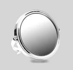 Reisspiegel van chroom vergroot 5 X en normaal 259725