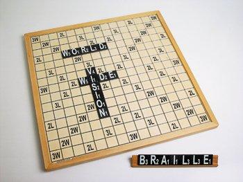 Scrabble WWV-XL met braille