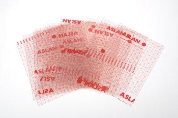 Zelfklevende transparante braillefolie 170501