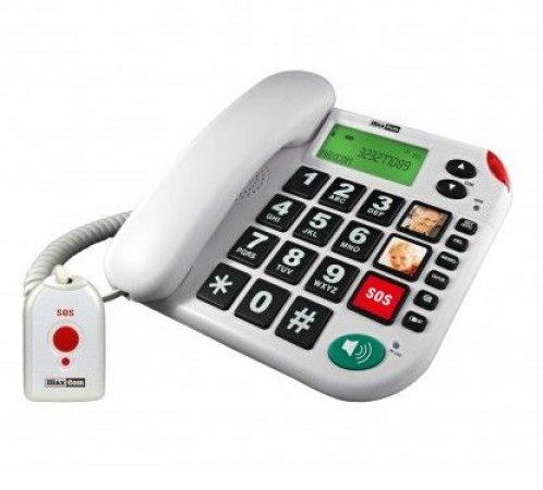 Maxcom huistelefoon met SOS knop KXT4 481