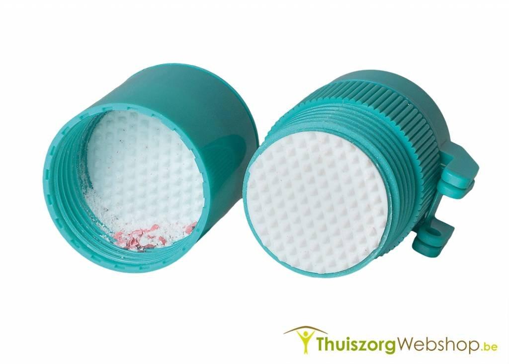 Pillenvergruizer/splijter met 2 opbergvakjes AD160999 49