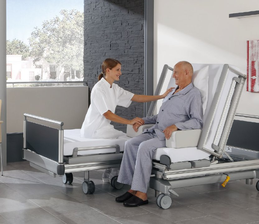 Ziekenhuisbed S 962-2 Vis-a-Vis