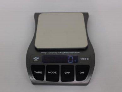 Vox2 meertalig sprekende keukenweegschaal 020001840