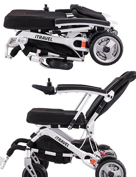 iTravel rolstoel opvouwbaar / plooibaar
