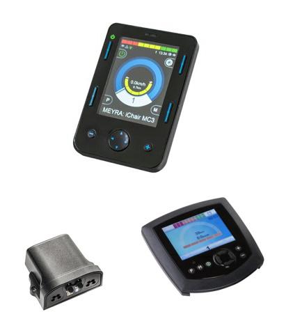 Meyra Bluetooth bedieningskasten op Meyra of andere aanpassing