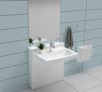 Ropox Elektrisch hoogteverstelbare lavabo Ropox StandardLine