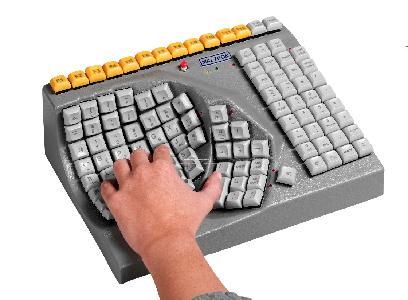 Maltron eenhandig toetsenbord RBIA; LBIA