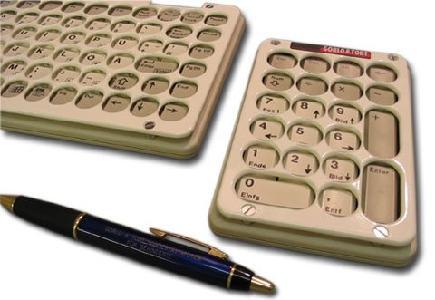 Gorlo & Todt Cherry Tastatur mit Abdeckplatte