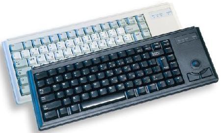 Cherry compact toetsenbord met trackball G84 -4400