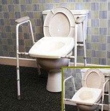 Stirling toiletkader met zitting AA2210, AA2214, AA2216