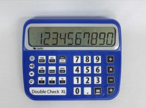 Nederlandssprekende rekenmachine Doublecheck XL 020001895