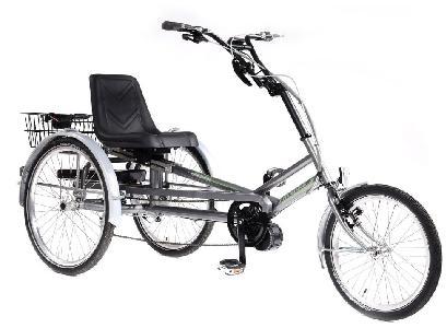 Tri-Bike Classic Y Frame zitdriewielfiets