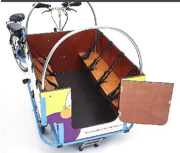 Achtzitter - bakfiets voor kindervervoer