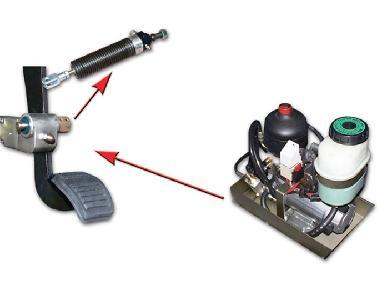 Guidosimplex / Fadiel AS01  Hydraulic Powered Brake System rembekrachtiging op de pedaal